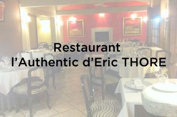 Restaurant l'Authentic d'Eric Thore