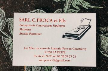 Sarl Claude Proca et Fils