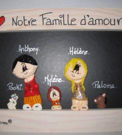 Les S'motes Portrait de famille personnalisé